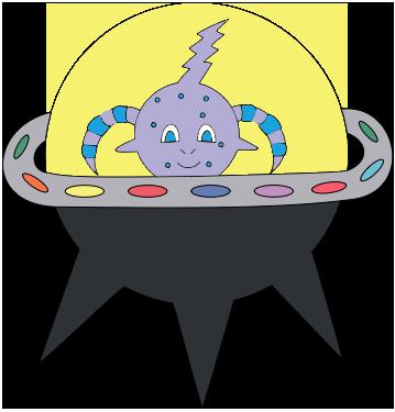 Woo Woo's spaceship